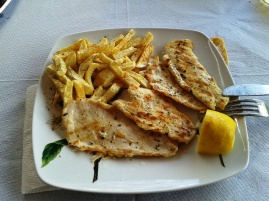 Garniture - potato with meat