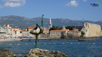 Dancing Girl Monument at the Old Town of Budva