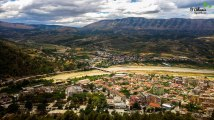 A view from Berat Castle