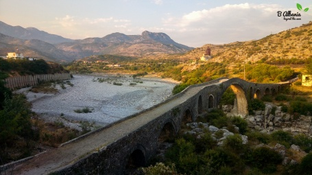Mes Bridge nearby Shkoder